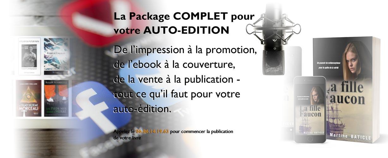 Auto Publication Le Pack Complet Pour Votre Livre